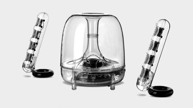 This stylish set of Harman Kardon speakers is $60 off for Black Friday