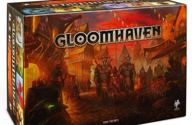 Gloomhaven, one of our favorite board games, is $87 this Black Friday