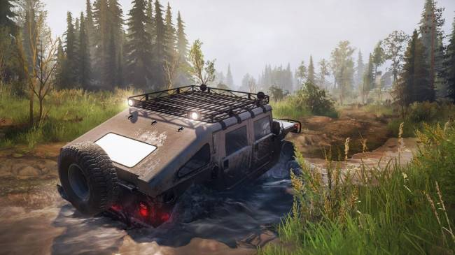 Mudrunner's filthy motoring is free on the Epic Games Store this week