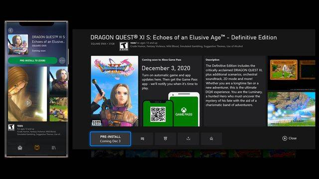 Xbox update brings preloading to Game Pass
