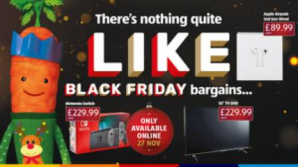 Aldi's unbeatable Nintendo Switch Black Friday deal goes live at midnight