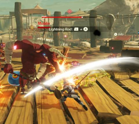 Quick Look: Hyrule Warriors: Age of Calamity