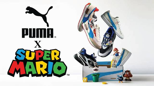 NES Future Rider Shoe Unveiled As Part Of The Upcoming Puma x Super Mario Collection