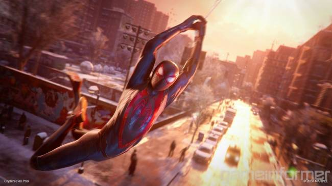 How Marvel's Spider-Man: Miles Morales Performs On PS4