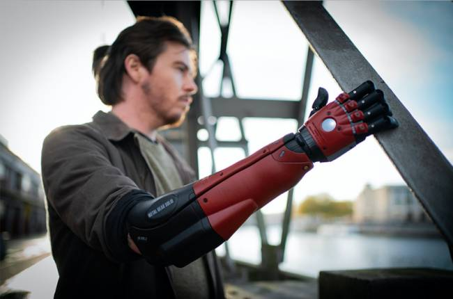 An Official Metal Gear Solid Prostethetic Arm Line Is Now Available