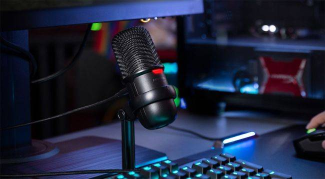 HyperX launches an affordable and compact USB microphone for streamers