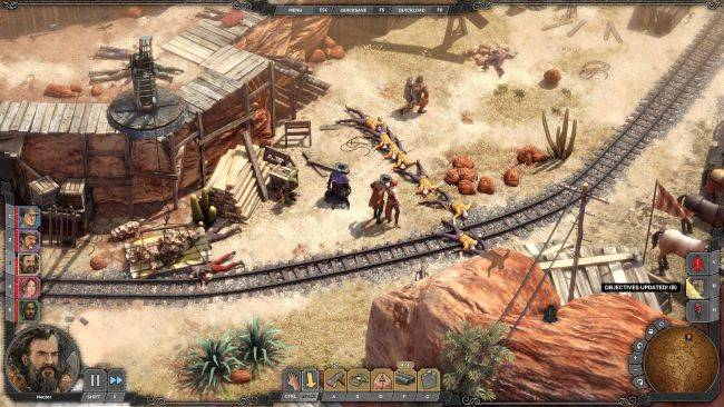 Desperados III lets you fire canons at cowboys in latest DLC