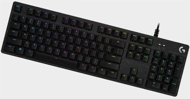 Logitech's G512 SE mechanical keyboard with RGB lighting is great value at $50