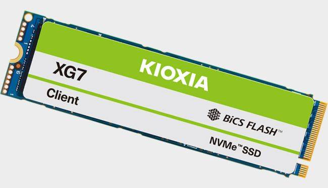 Kioxia launches its first PC PCIe 4.0 SSDs just in time for the next-gen storage explosion
