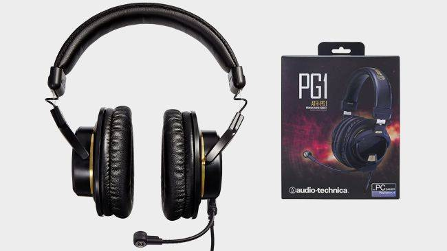 Gaming headset deal: Audio-Technica's ATH-PG1 is down to $80 right now ($50 off)