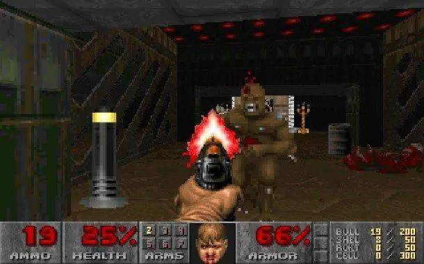 Watch this short video's awesome transitions through FPS history