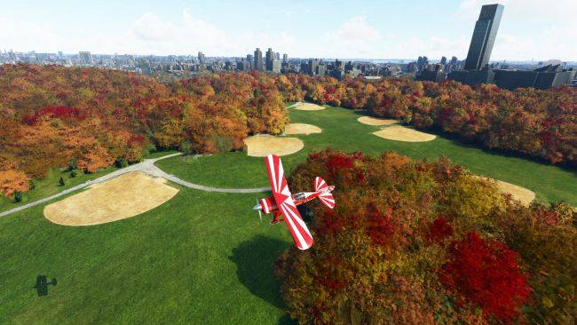 Turn the world autumn with this fall colors mod for Microsoft Flight Simulator