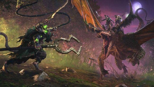 Total War: Warhammer 2 is adding dragon-riding elf twins and a skaven named 'Throt the Unclean'