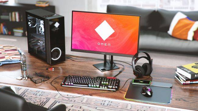 Win big this holiday season with an AMD-powered HP OMEN desktop