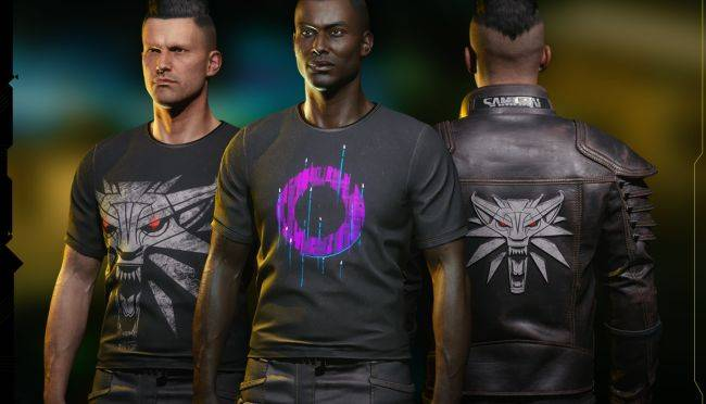 Cyberpunk 2077 players can get a free 'Wolf School' Witcher jacket to wear in the game