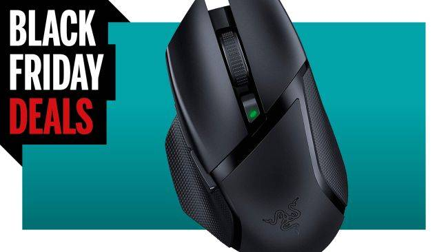 Black Friday gaming mouse deal: Razer's Basilisk X Hyperspeed is only $40