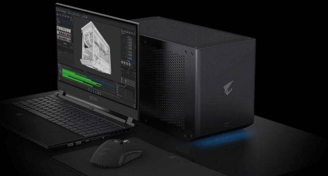 These liquid cooled external graphics boxes pack up to an Nvidia RTX 3090