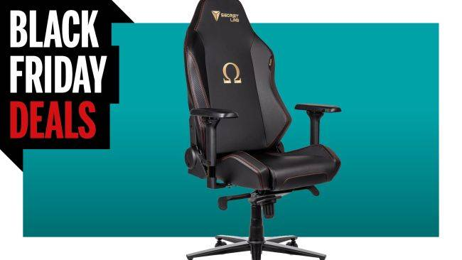 SecretLab's gaming chairs are $70 off for Black Friday