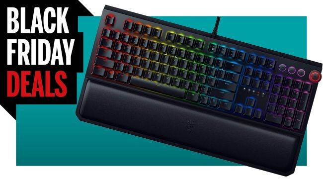 The Razer BlackWidow Elite is half price on Amazon for Black Friday