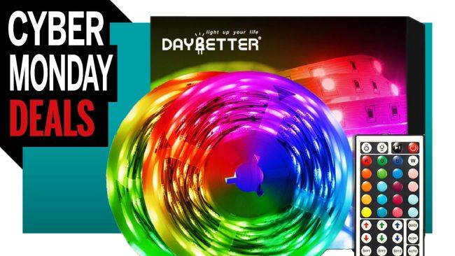 To hell with it: Here's a 32-foot long strip of RGB LEDs on sale for $16.37
