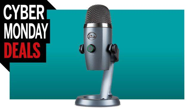 The adorable Blue Yeti Nano microphone is down to $109 for Cyber Monday