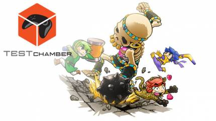 Test Chamber – The Legend Of Zelda: Tri Force Heroes