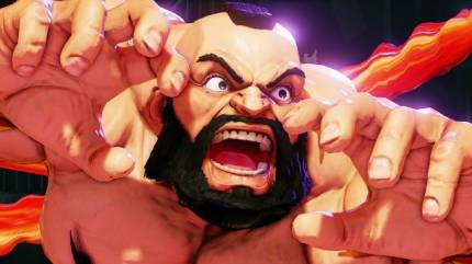 Zangief Unleashes His Furious Flurry