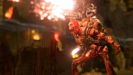 Doom Multiplayer Footage Gets The Blood Pumping
