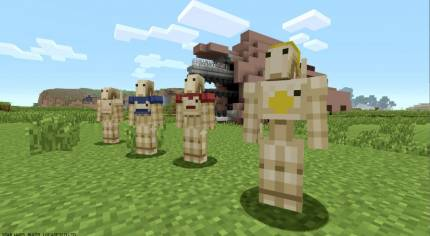 Scares, Spartans, And Sith Added To The Console Editions Of Minecraft