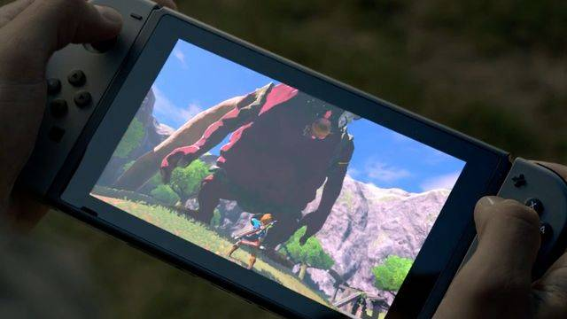 Take a 3D look at the Nintendo Switch