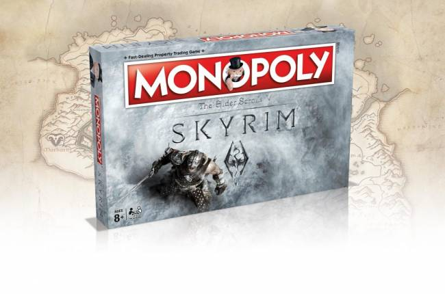 Official Skyrim Monopoly Set Coming in March 2017