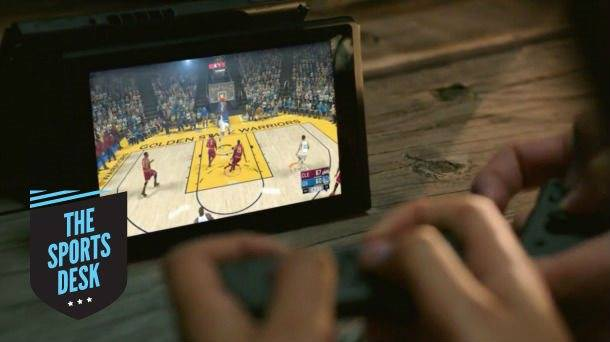 The Sports Desk – Sports Games & The Nintendo Switch