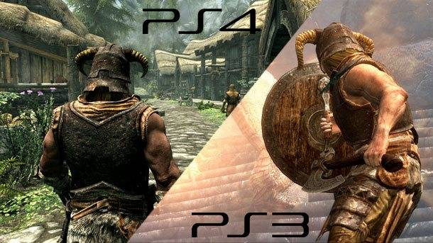 Comparing The Elder Scrolls V: Skyrim PS3 To Special Edition On PS4