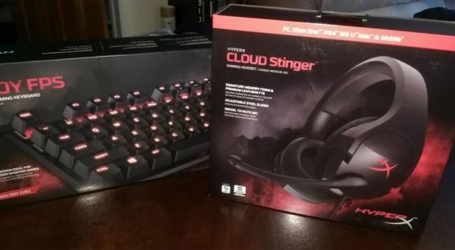 HyperX Cloud Stinger Headset and Alloy FPS Mechanical Gaming Keyboard Review