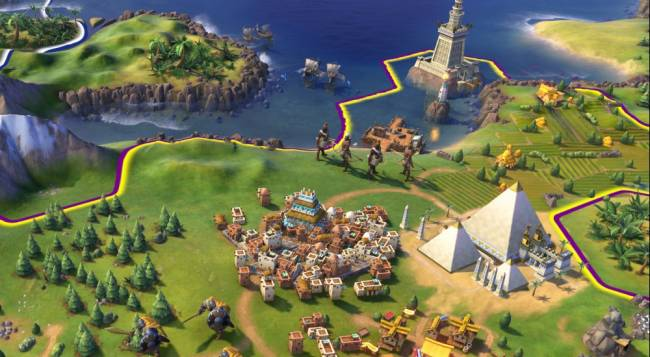 No Co-Op in Civilization VI For Now
