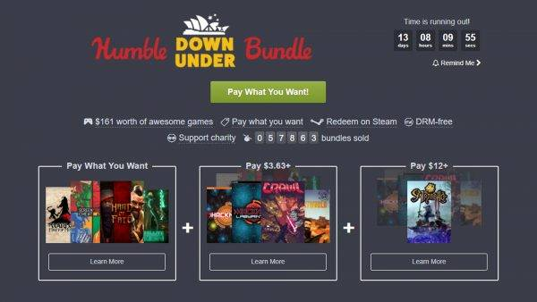 Humble's Down Under Bundle celebrates the best of Australian indie games