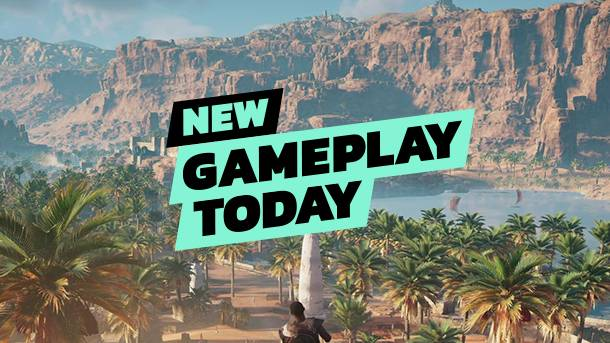 New Gameplay Today – Assassin's Creed Origins