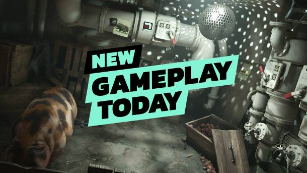 New Gameplay Today – Wolfenstein II: The New Colossus