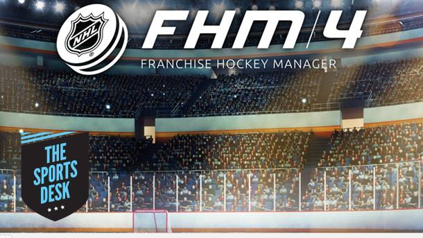 The Sports Desk – Taking The Ice With Franchise Hockey Manager 4