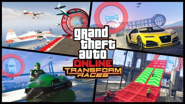 Transforming vehicles and aerial dogfights are coming to 'GTA Online'