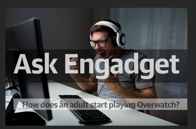 Ask Engadget: How does one start playing 'Overwatch' as an adult?