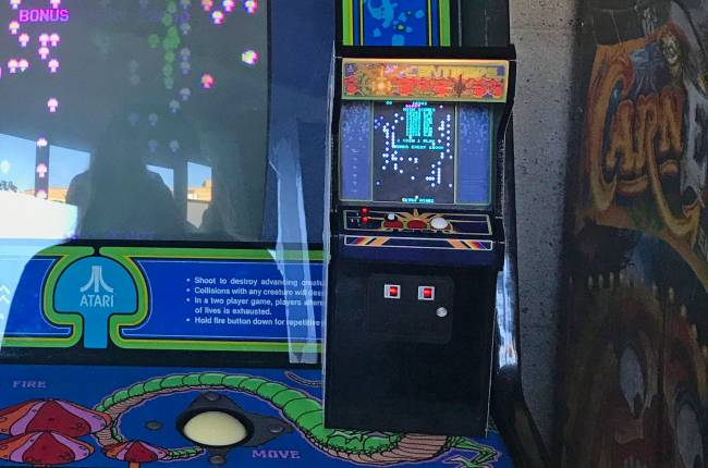 Play Atari's 'Centipede' on a tiny, authentic arcade cabinet