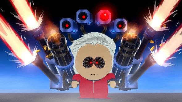 Only cheat in South Park: The Fractured but Whole if you want to get chewed out
