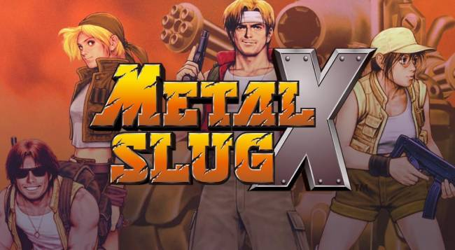 Metal Slug X Now Available On Xbox One