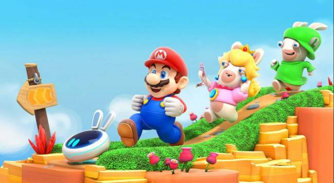 Surprise! The First Mario And Rabbids Kingdom Battle DLC Is Out