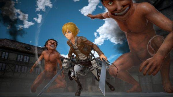 Koei Tecmo's Attack on Titan 2 playable at Paris Games Week 2017