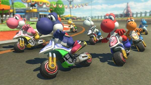 Mario Kart 8 Deluxe version 1.3 update now available