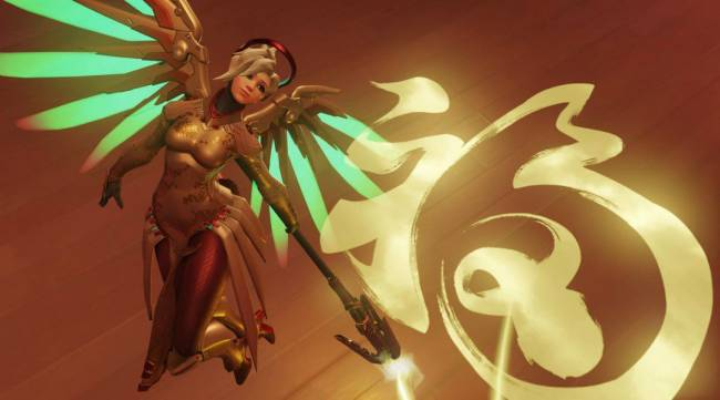 Overwatch: Mercy Concept Art Takes the Internet by Storm