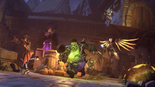 Ranking The Overwatch Halloween Skins