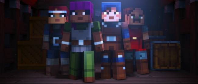 Minecraft: Dungeons Is A Co-op Dungeon Crawler Coming To PC Next Year